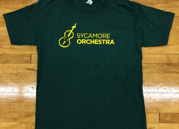 Green T-shirt - Orchestra