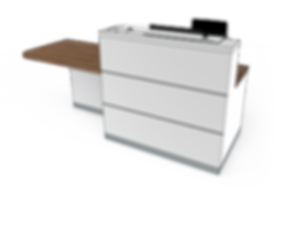 evolution eclypse YC1-R reception desk.p
