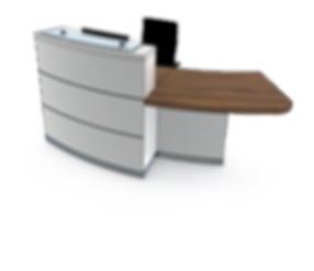 evolution eclypse YB1-L reception desk.p