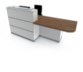 evolution eclypse YC1-L reception desk.p