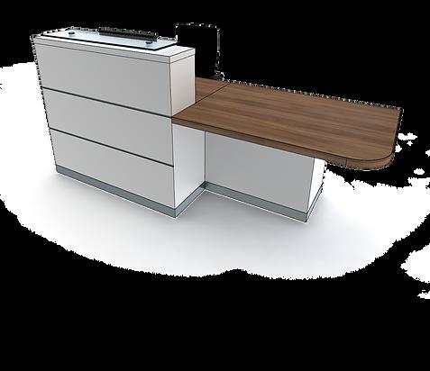 evolution eclypse YC1-L reception desk.p