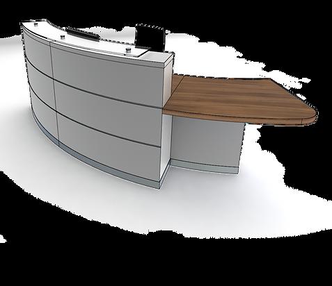 evolution eclypse YB2-L reception desk.p