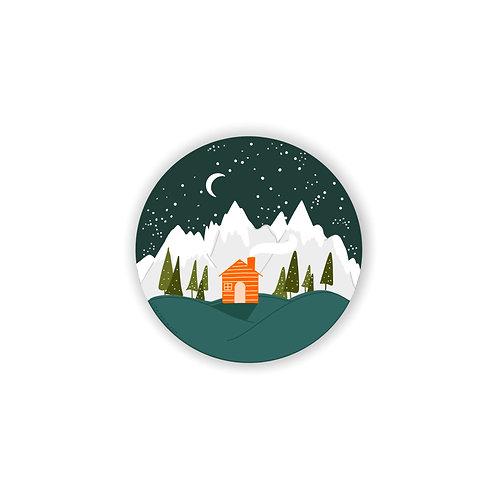Winter Wonderland Vinyl Sticker