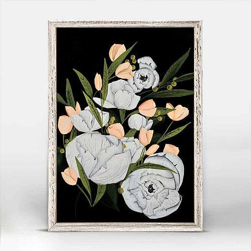 Pocket Full of Posies Mini Framed Canvas
