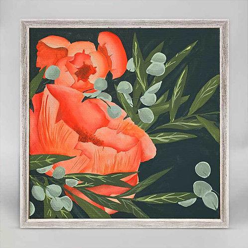 Late Bloomer Mini Framed Canvas
