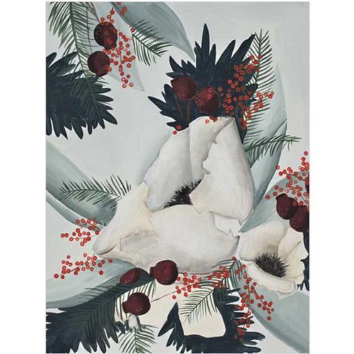 Winter Garden Print on Canvas