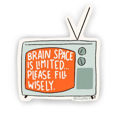 Brain Space Sticker