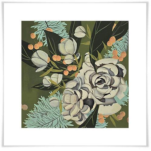 Green Forest Garden Art Print
