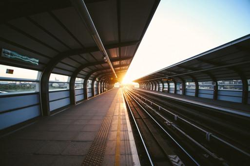 Bahnhof - Railway station