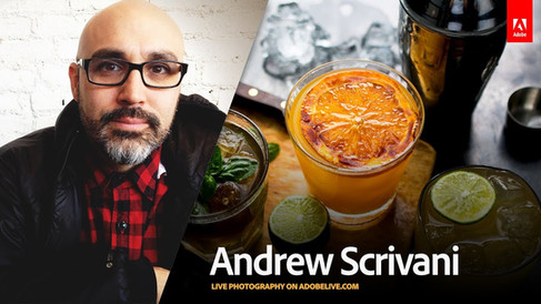 Adobe Creative Cloud - Live Photography with Andrew Scrivani 1/3