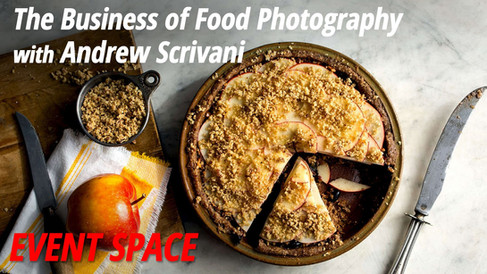 B&H - Event Space: The Business of Food Photography with Andrew Scrivani