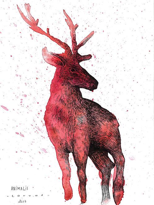 Reproduction Beaux-Arts - Animalis III