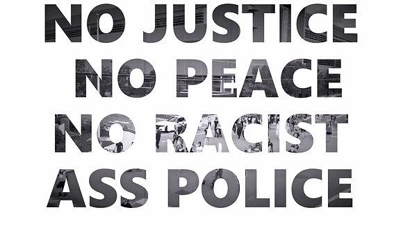 Protest Video & White Digital Frame
