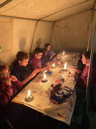 Scout Survival Camp