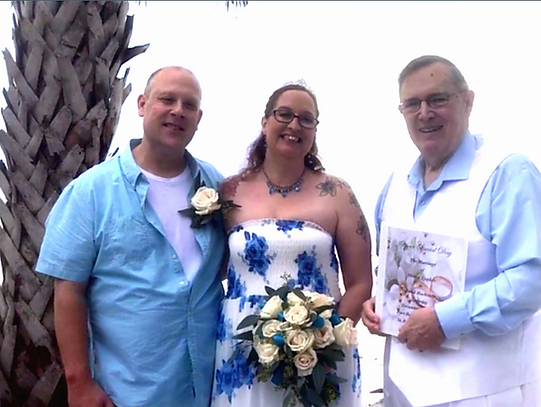 Beach weddings are always fun & casual . . .