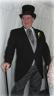 Rev. Tom at his own wedding