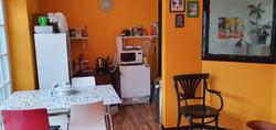 !950s Hawaiian Tiki themed kitchen and c