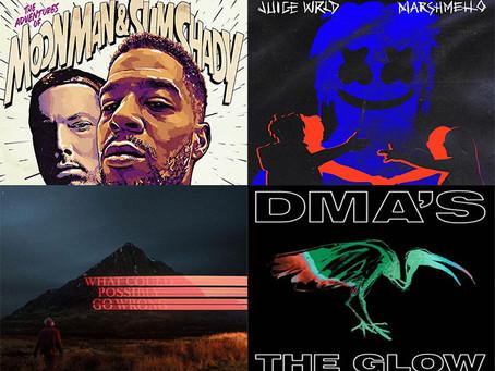 Best new songs: Kid Cudi feat. Eminem, James Blake, Juice WRLD, Future Islands and more