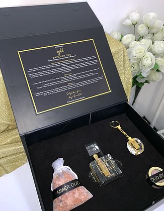 Gold Shimmer Oud Gift Set