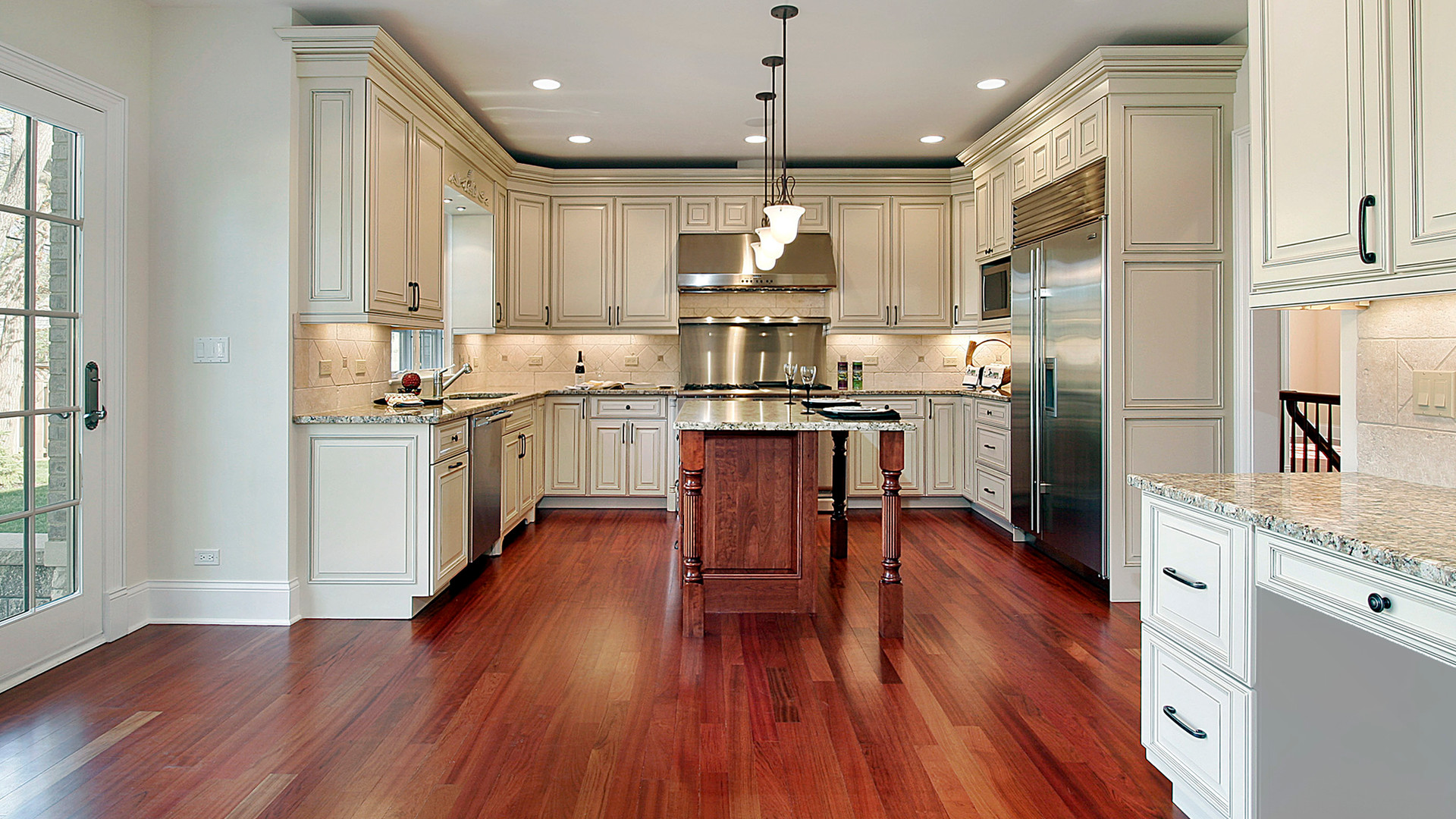 kitchen-with-cherry-wood-floor-12656978.