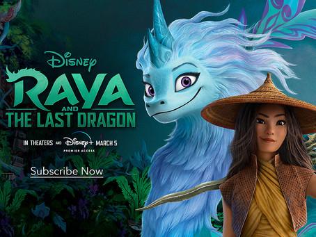 Reseña Raya y el Último Dragón