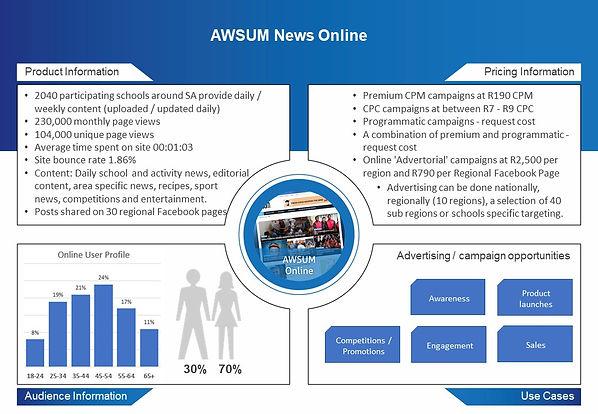 AWSUM Marketing Material AWSUM News Onli