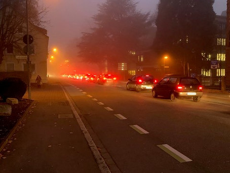 Verminderung des Autoverkehrs in der Innenstadt