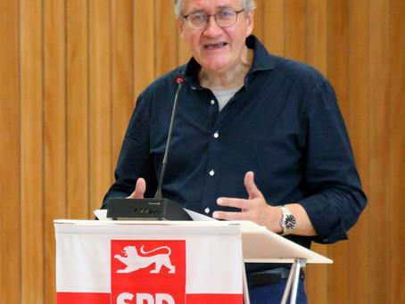 Matthias Katsch ist neuer Kreisvorsitzender der SPD