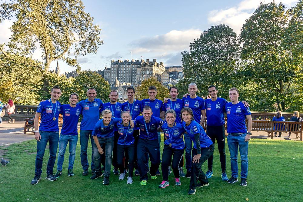 Der Great Scottish Run 2018 wurde wie die gesamte Reise nach Schottland zum vollen Erfolg.