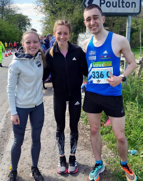 Wangler & Müller zeigen sich beim Cheshire Elite-Marathon kämpferisch