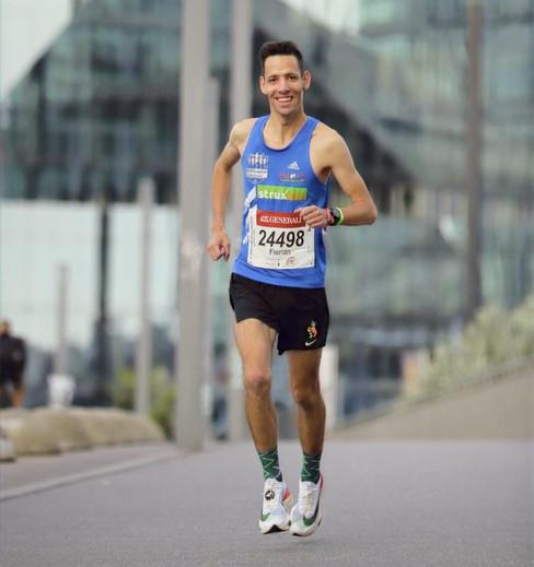 Florian Walz läuft Bestzeit in Berlin
