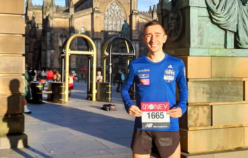 Jonas Müller beim London-Marathon unter den besten 300