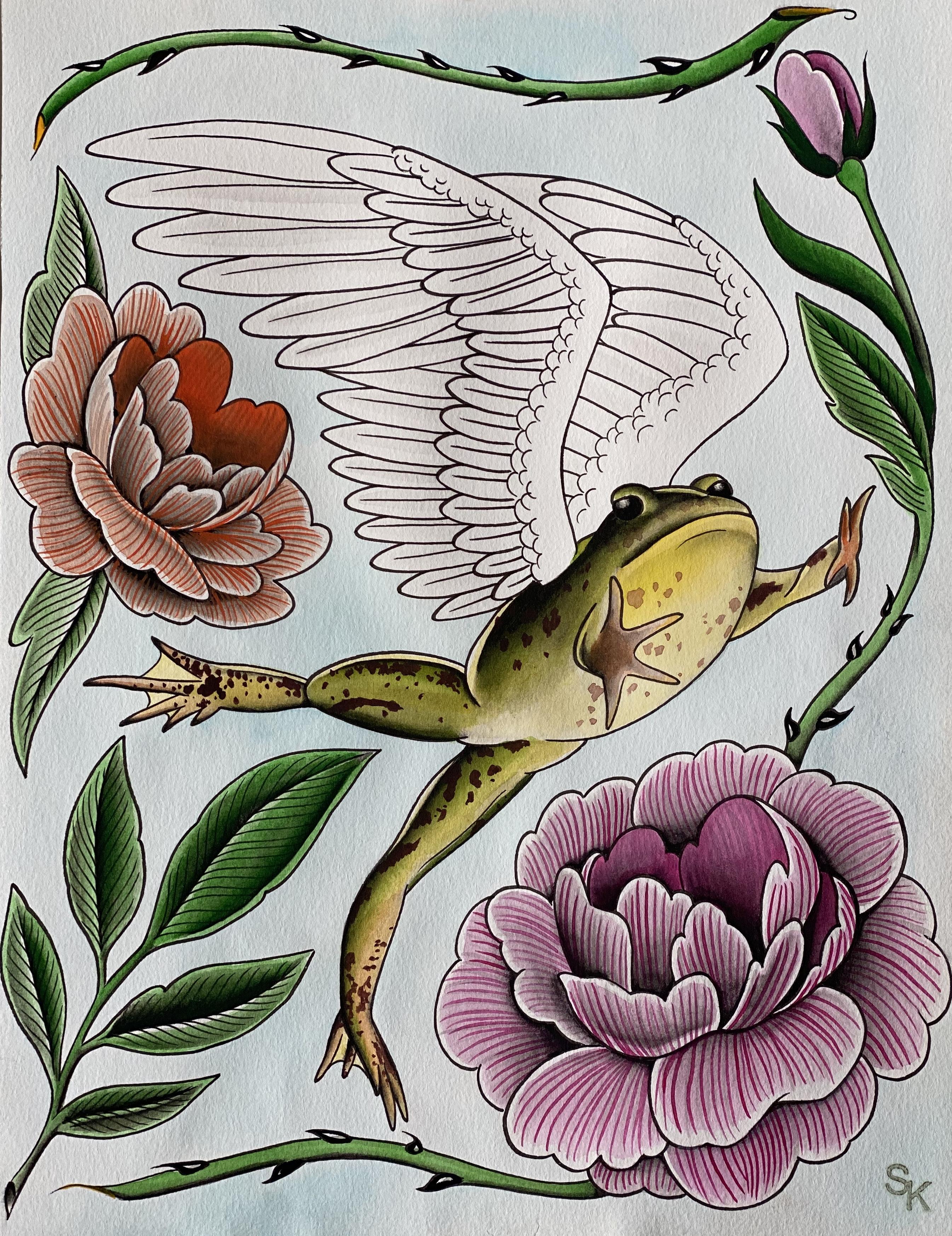 """""""Spring Frog Demon"""""""