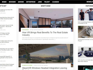"""How VR Brings Real Benefits To The Real Estate Industry"" - Guest Post on UploadVR.com"