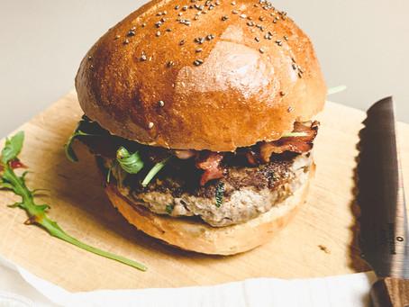 Homemade Burger Patties.