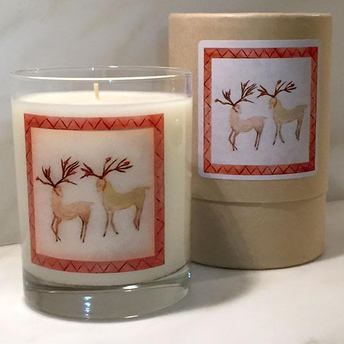 Dancer and Prancer Candle