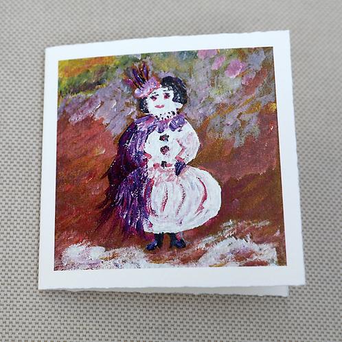 Snow Woman Card