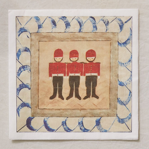 Soldier Boys Cocktail Napkins