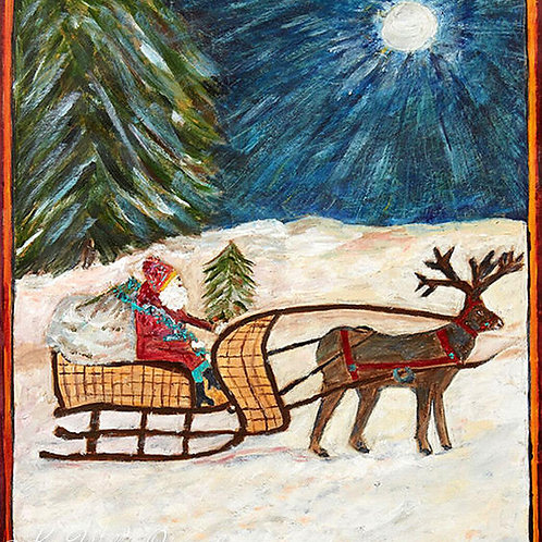 Sleigh Ride Gift Wrap