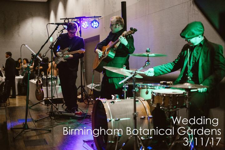 The Band at Birmingham Botanical Gardens