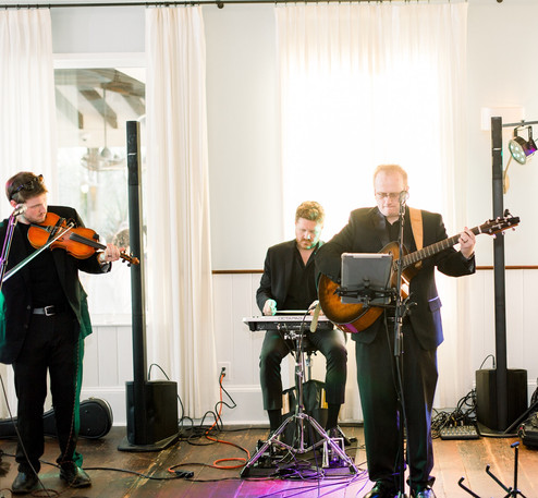 The 3 Piece Band Playing