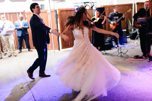 The Bride Spinning during her First Dance