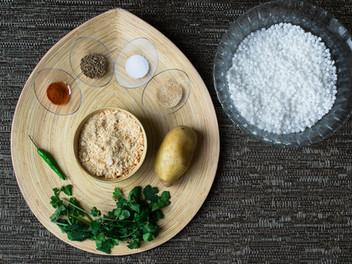 "From my mum's kitchen! Tapioca delight or the authentic ""Sabudana Khichadi"""