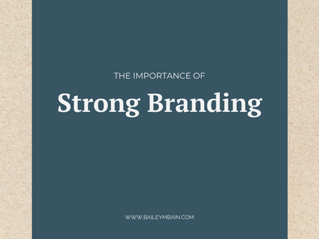The Importance of Strong Branding