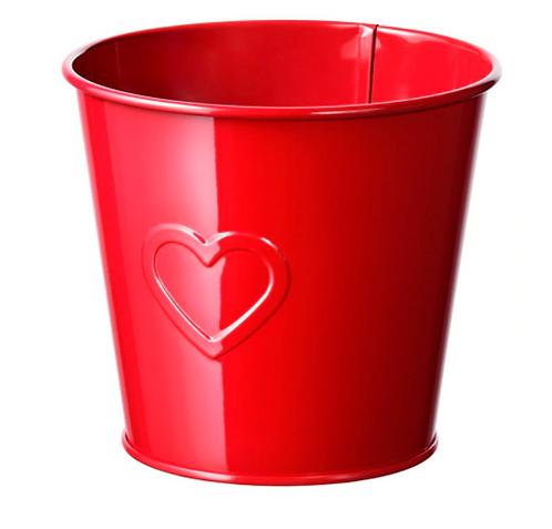 VINTERFEST Plant pot, / Pen/ Accessories Holder, Red