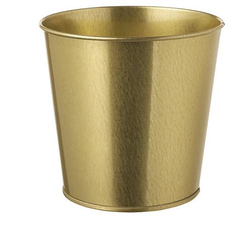 DAIDAI Plant Pot/ Pen/ Accessories Holder, Brass