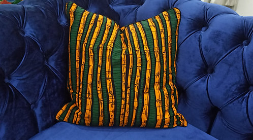 JABI Ankara Cushion Cover, 45×45 cm by Debb's Home