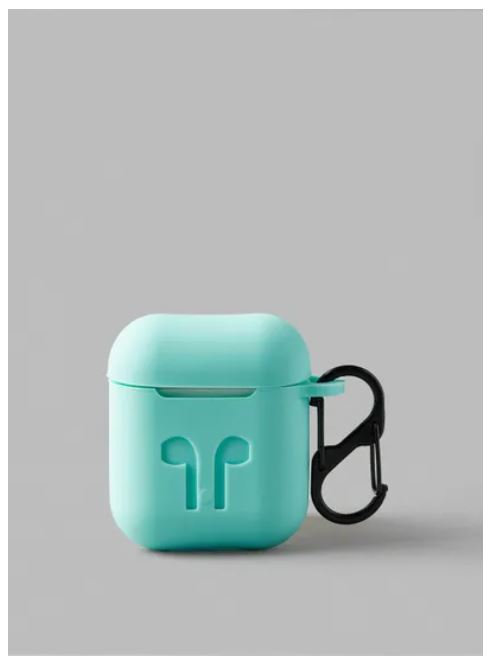 Protective Silicone Case Cover For Apple AirPods 2, Teal by Noon East