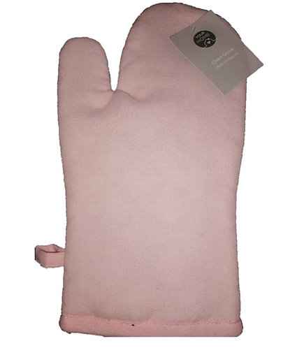 Light Pink Oven Glove, Home Etc