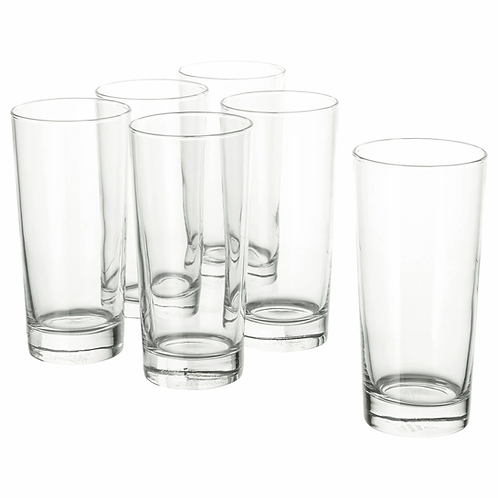 GODIS Glass 40 cl, clear glass by IKEA